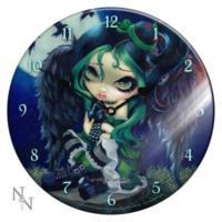Orologio di vetro Perched End Sat E Nothing 34 cm