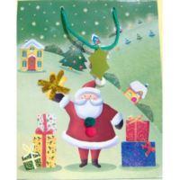 Sacchetto Natalizio con Babbo Natale piccolo