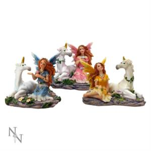 Set di 3 Woodland Unicorn Fairies