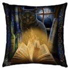 Cuscini con gufi e gatti