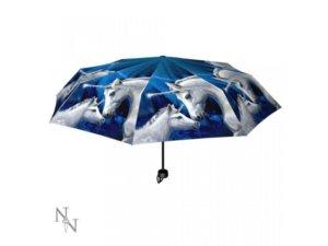 Ombrelli con unicorni