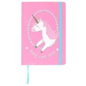 Diari, quaderni, agende, penne e matite con unicorni