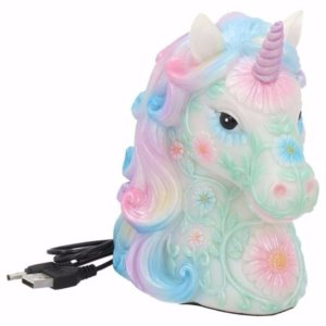 Lampade con unicorni